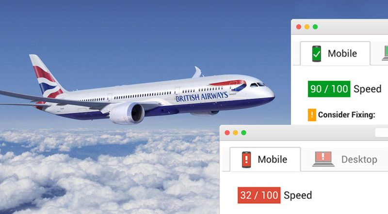 british airways user experience interface design